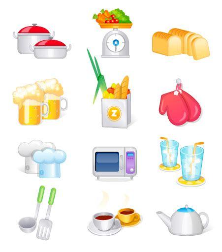 fourniture de cuisine fournitures de cuisine ustensiles de cuisine vecteur