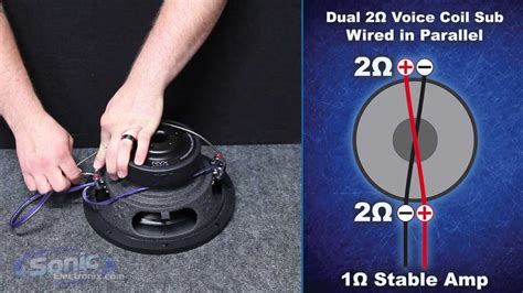 How Wire Dual Ohm Subwoofer Final