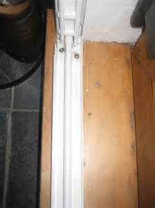 100 patio white sliding door security bar master