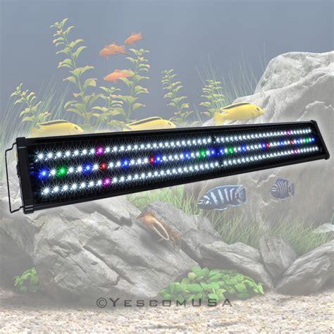 48 led aquarium light 0 5w 24 quot 36 quot 48 quot multi color led aquarium light full spec