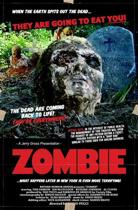 horror design zombie lucio fulci
