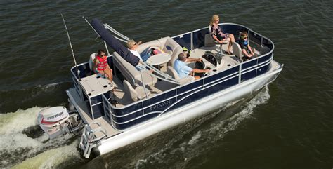 Fishing Pontoon Boats by 5 Pontoon Boats That Are Made To Fish Boat