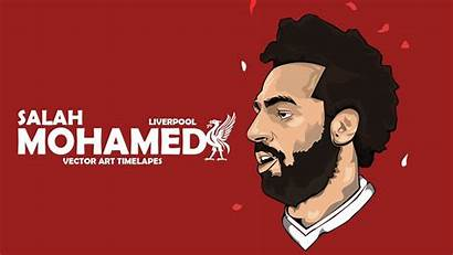 Salah Mohamed Liverpool Wallpapers Photoshop Vector