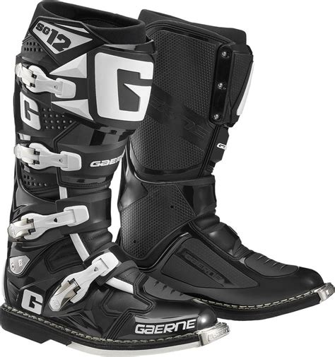 motocross boots closeout 629 95 gaerne mens sg 12 sg12 motocross boots 260187