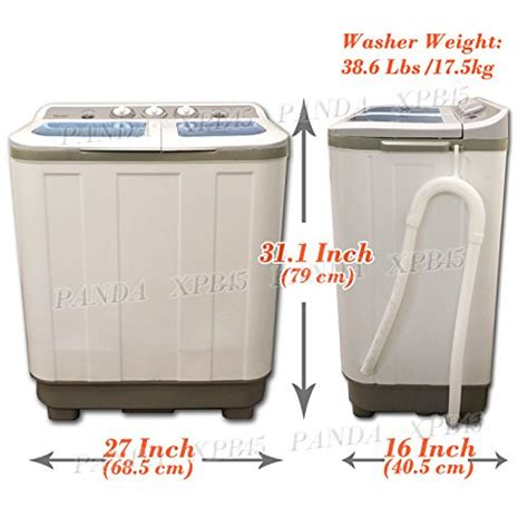 washer dryer sizes washers and dryers panda small compact portable washing