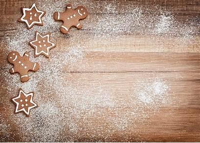Cookies Template Greeting Card Gingerbread Sugar Holiday