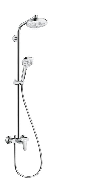 hansgrohe shower pipes crometta 1 spray mode 27266400
