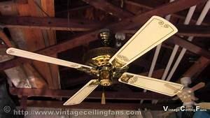 Nutone Verandah Deluxe Ceiling Fan Model Pfd