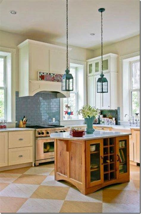 wood floors in kitchens painted wood floors ideas 1580