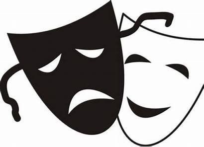 Clipart Drama Skit Science Class Mask Smiling