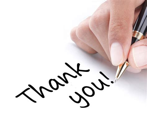 Writing A Thankyou Letter That Works  Jobstreet Singapore