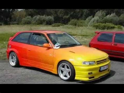 opel astra f tuning by piter
