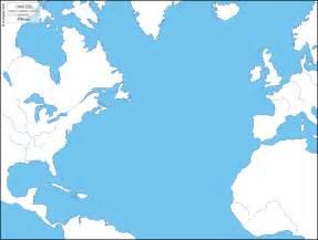 Atlantic Ocean Map