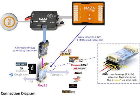 Naza Osd Wiring Diagram by R 178 C2t Adapter Board Naza M V2 Telemetrie R2 C2t 01 Set