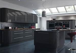 meuble haut cuisine gris anthracite solutions pour la With cuisine equipee gris anthracite