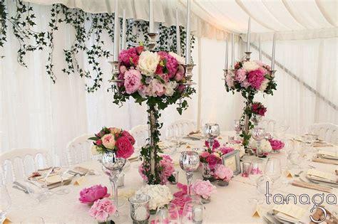 centre de table avec chandelier trop beau mon mariage
