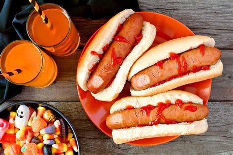 hot dog de lhorreur halloween une recette de plat facile