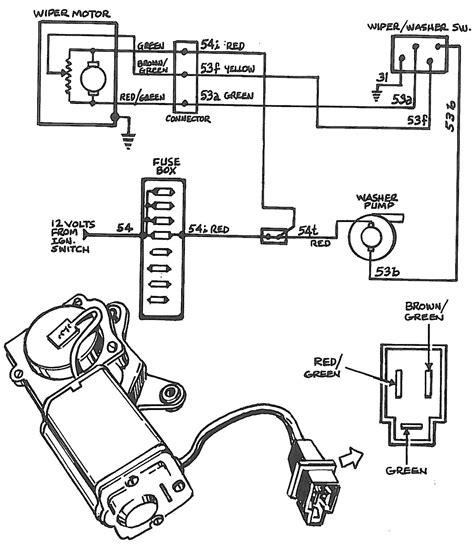 wiper motor wiring diagram impremedia net