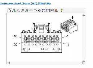 2007 Chevrolet Tahoe Instrument Panel Cluster Connector Pinout