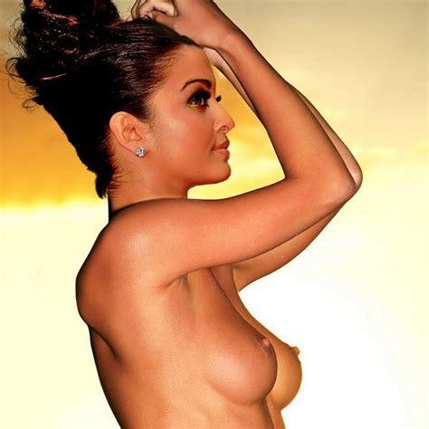 Top Celebrity Nude Aishwarya Rai Topless Naked Nude