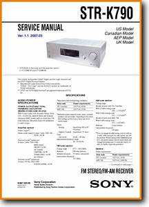 Sony Strk-790 Solid State Amp Receiver