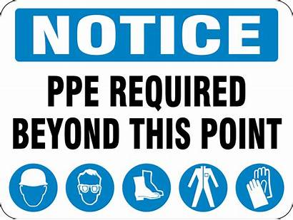 Ppe Required Point Beyond Equipment Protective Personal