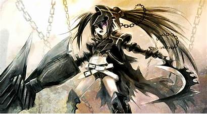 Insane Shooter Rock Anime Chain Wallpapers Weapon