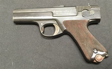 Disassembly photos: Simson Prototype Blowback 9mm ...