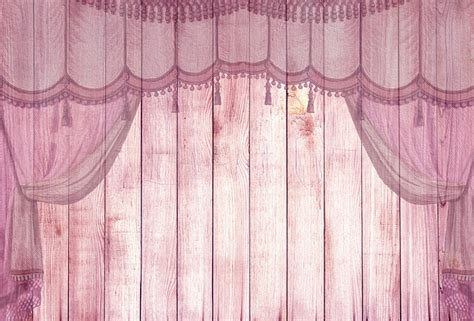 wood pink stage curtain  image  pixabay