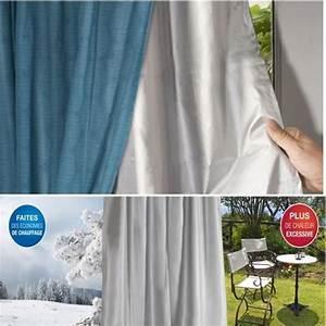 Film Anti Chaleur Fenetre : rideau thermique isolant anti froid pour fen tre achat ~ Edinachiropracticcenter.com Idées de Décoration