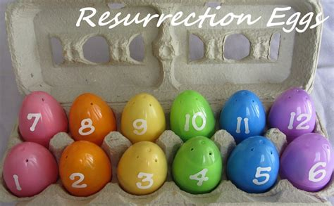 easter activity resurrection eggs with free printables 917 | resurrection eggs easter activity 2 1024x633