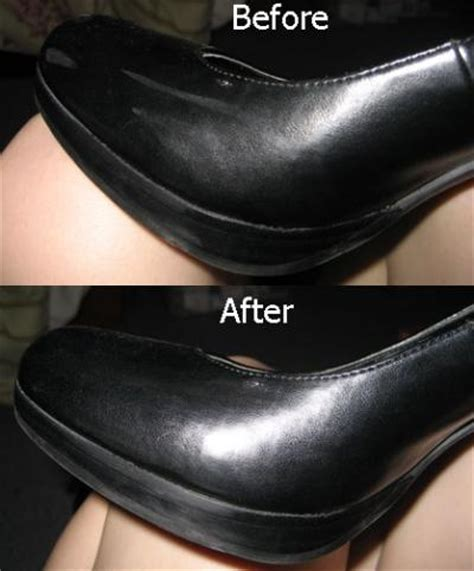 fix scuffed leather scuff marks on patent leather shoes thriftyfun 3762
