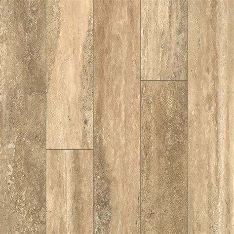 Shop allen   roth Estate Stone Wood Planks Laminate