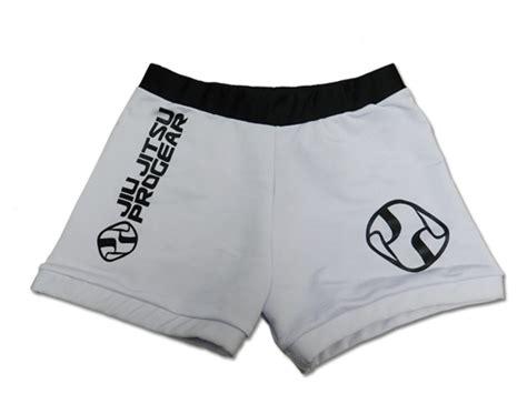 jiu jitsu pro gear vale tudo shorts white