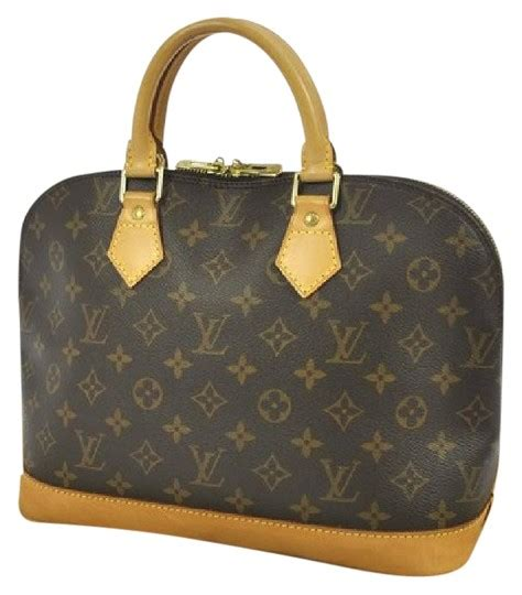 louis vuitton reduced price monogram alma pm  dustbag