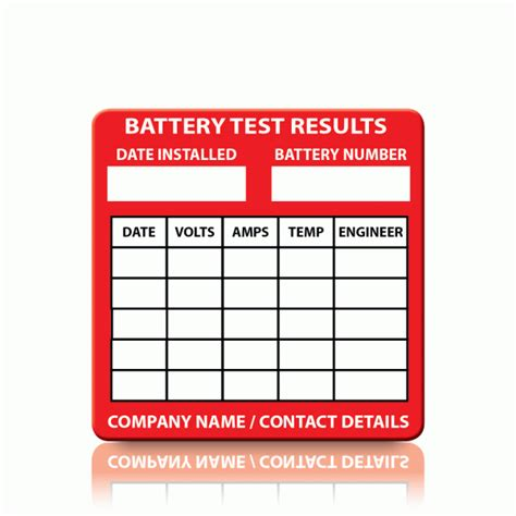 Buy Custom Battery Test Labels  Pat Labels Online. Cover Page High School Signs Of Stroke. Horse Trail Signs Of Stroke. Kitchen Murals. Mio Soul Decals. Blocked Lettering. Studio G Brush Lettering. University Student Symptom Signs. Fibar Murals