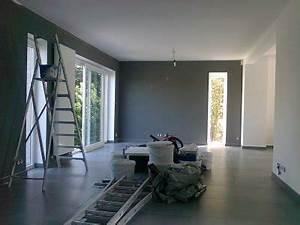 la peinture blog de la casa de notre vie With lovely peindre salon 2 couleurs 1 peindre le mur en 2 couleurs