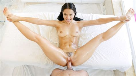 Sexy Brunette Naked Girl Fucked Hard By Her Mans Big Dick
