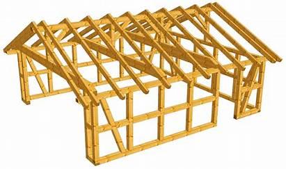 Bausatz Fachwerk Satteldach Garage Kvh Carport Bonn