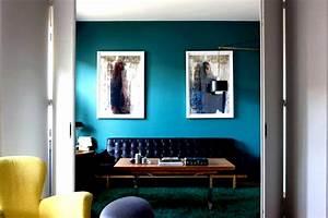 Deco Bleu Petrole : d co salon bleu petrole ~ Farleysfitness.com Idées de Décoration