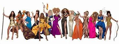Season Rupaul Drag Race Promo Contestants Themes