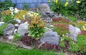 rocaille jardin conseils de construction et photos With jardin en pente que faire 3 rocaille jardin creer une rocaille pratique fr