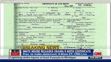 how do i get a long form birth certificate obama releases original long form birth certificate cnn