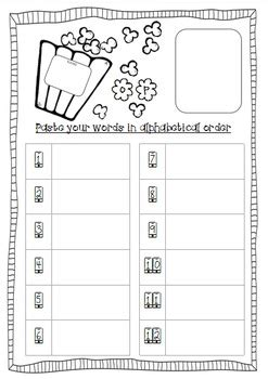 popcorn word family short vowel sounds rhyming poetry
