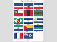 Flags of the Balkan Countries by FennOmaniC on DeviantArt