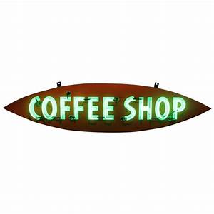 1950s Neon Sign QuotCoffee Shopquot For Sale At 1stdibs