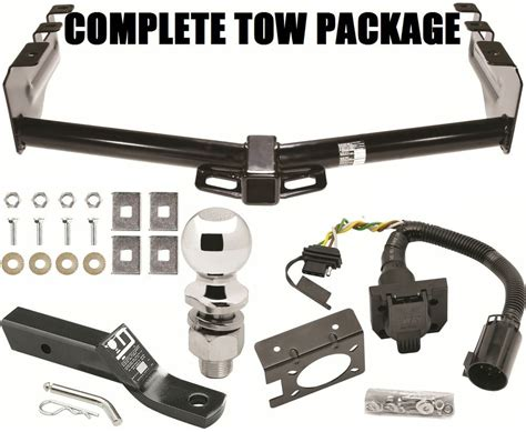 Complete Trailer Hitch Package Way Wiring