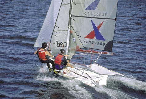 Research Vanguard Sailboats 49er Racing Sailboat Boat On
