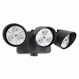 Lithonia lighting bronze outdoor led wall mount flood light with photocell oflr ln p bz m