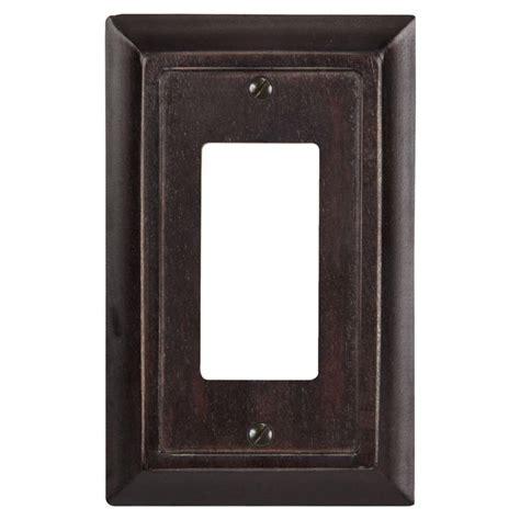 1gang toggle wall plate wood switch plates unfinished black u0026 white paw prints